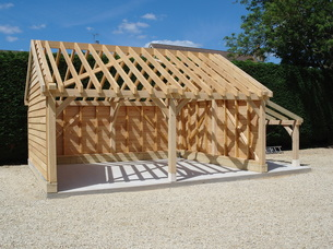 Oak Garage Kits Made In Oak Madeinoak Com